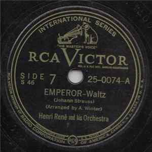 Henri René And His Musette Orchestra - Emperor / Southern Roses